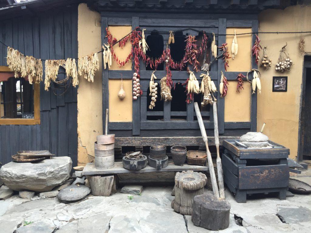 Simply Bhutan - Old house