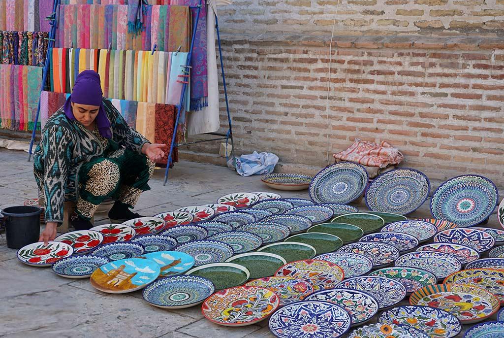 Uzbek Bazaar