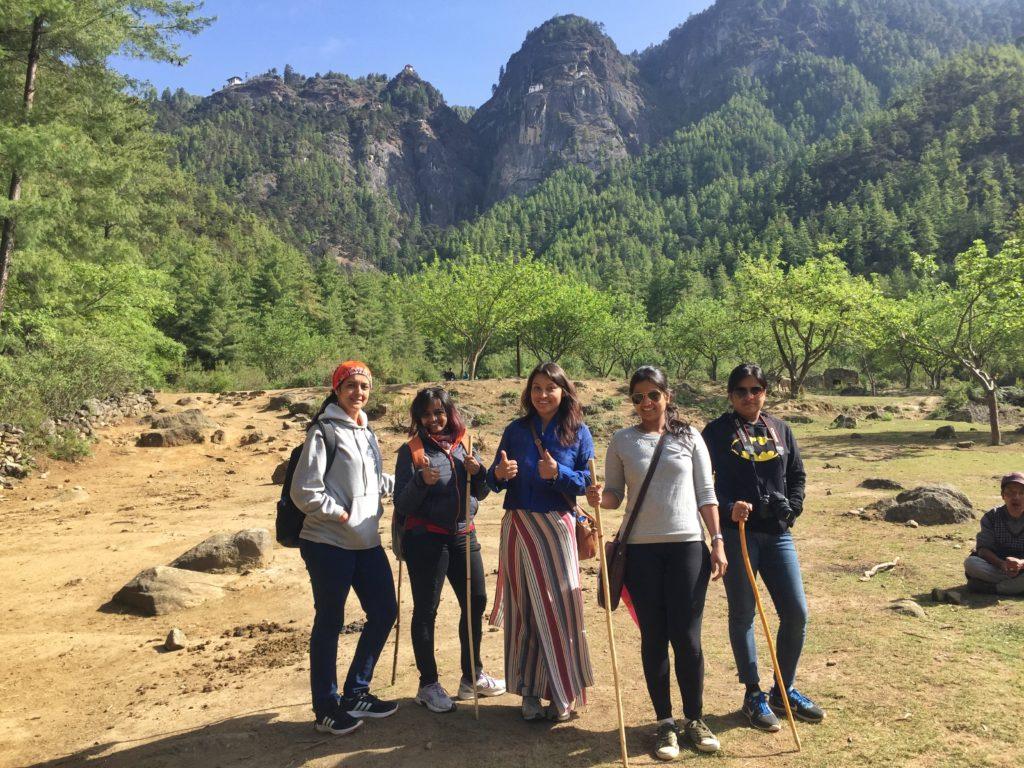 Trekking in Paro