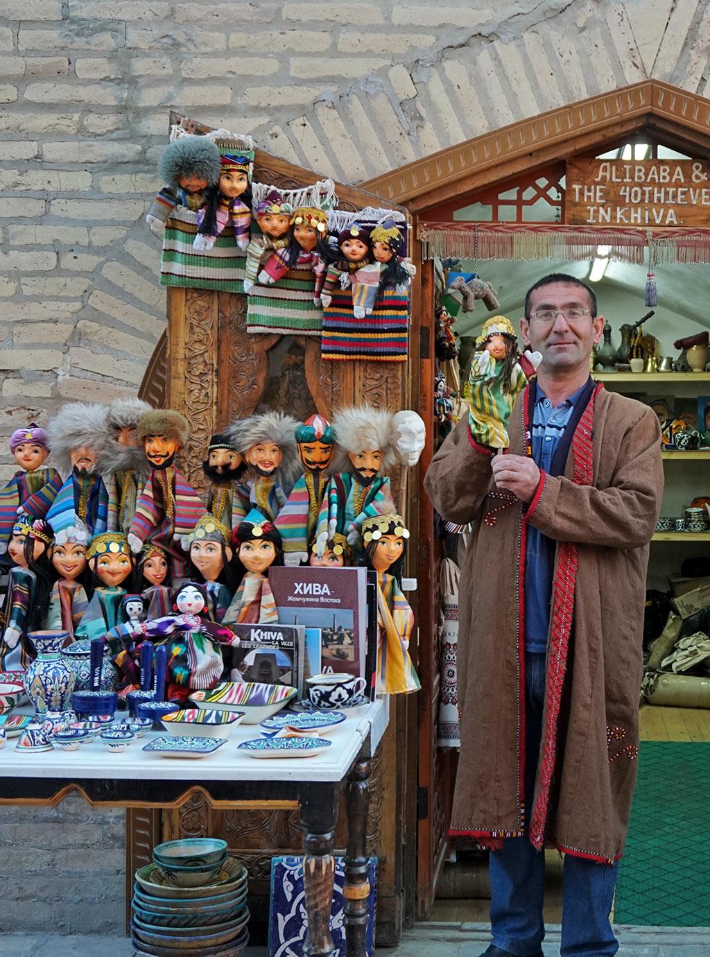 Uzbek Puppet